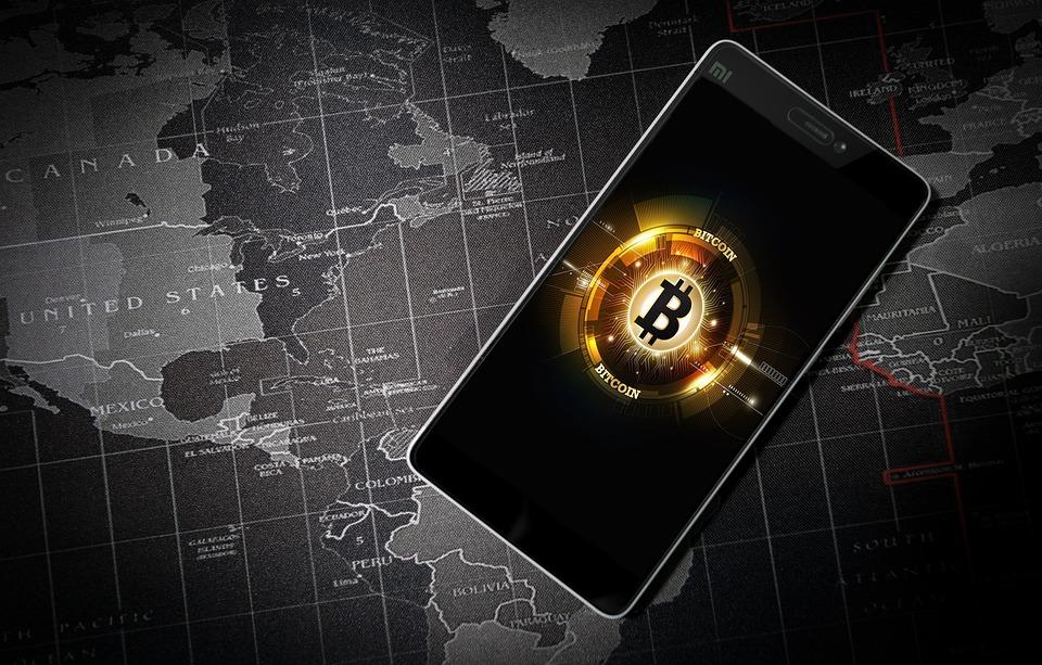 Bitcoin, 돈, 가상, 시장, 비트 코인, 디지털, 무역, 동전, 회색 돈을, 디지털 회색