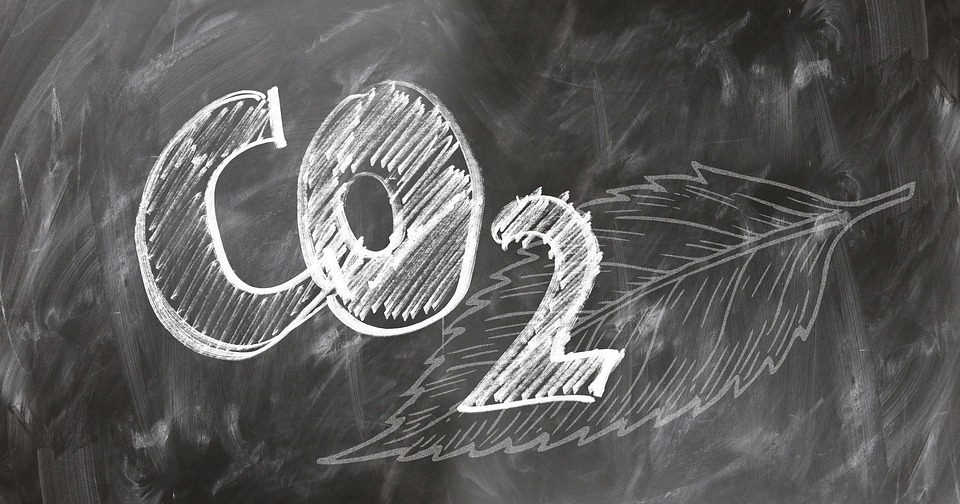Co2, 二酸化炭素, カーボン, 酸素, 雰囲気, ボード, フォント