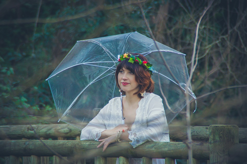 Зонтик, Природа, Хорошо Выглядит, Дождь, Открытый