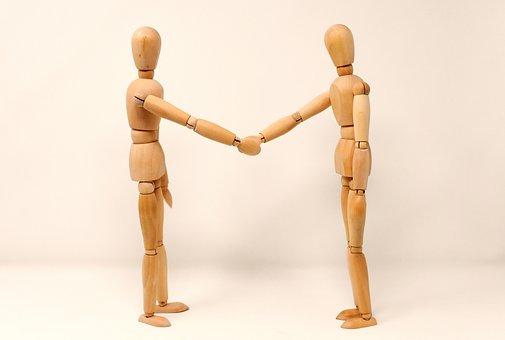 Berpegangan Tangan, Jabat Tangan