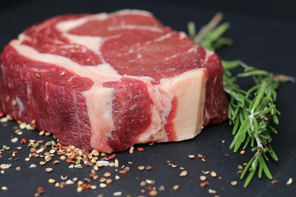 肉, 食品, 牛肉, ステーキ, お楽しみください, バーベキュー, 牛ステーキ, 赤身の肉, ジューシー