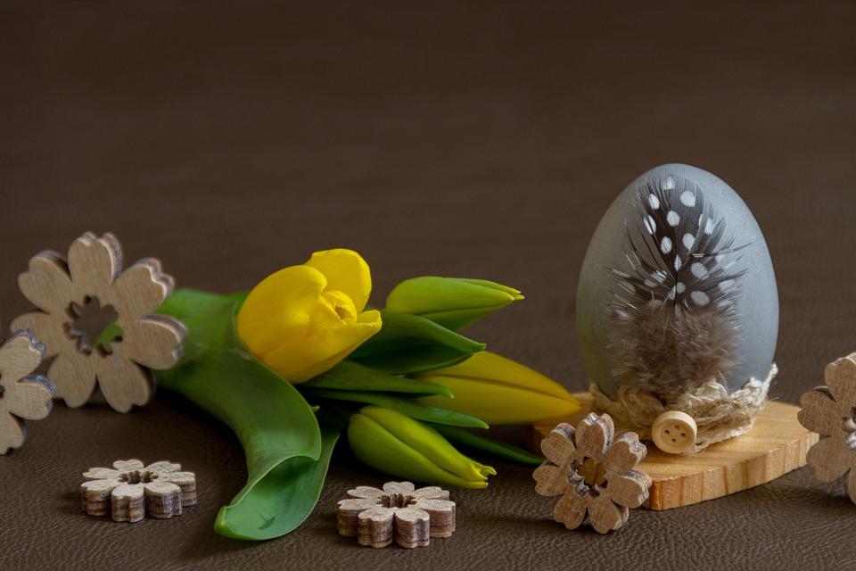 Easter Flower Egg Free Photo On Pixabay