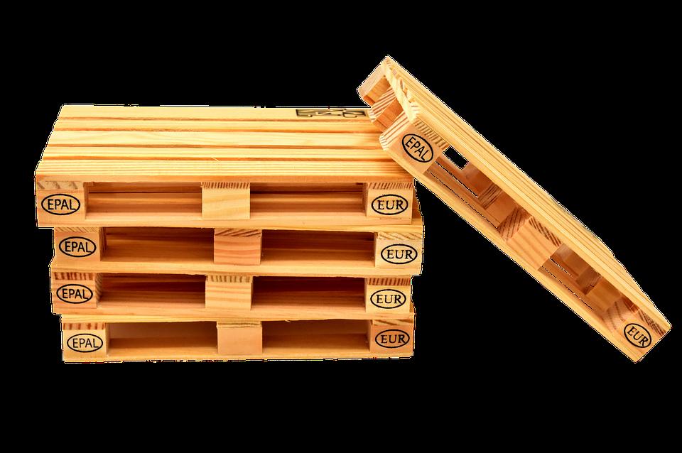 Euro palets madera pila foto gratis en pixabay for Paletas madera