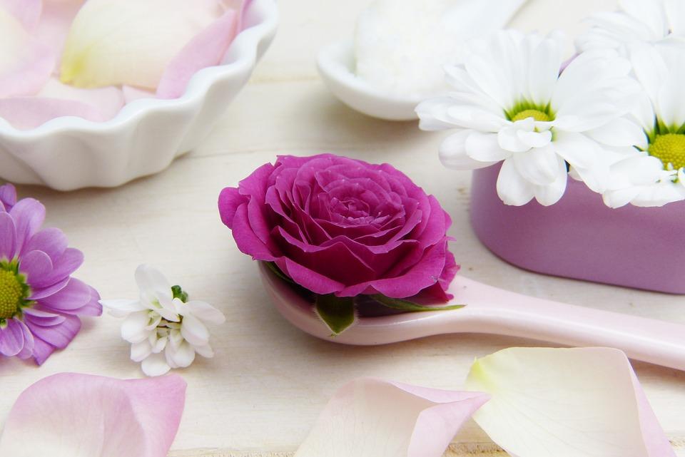 Rosa, Cucchiaio, Il Burro Di Karitè, Cosmetici