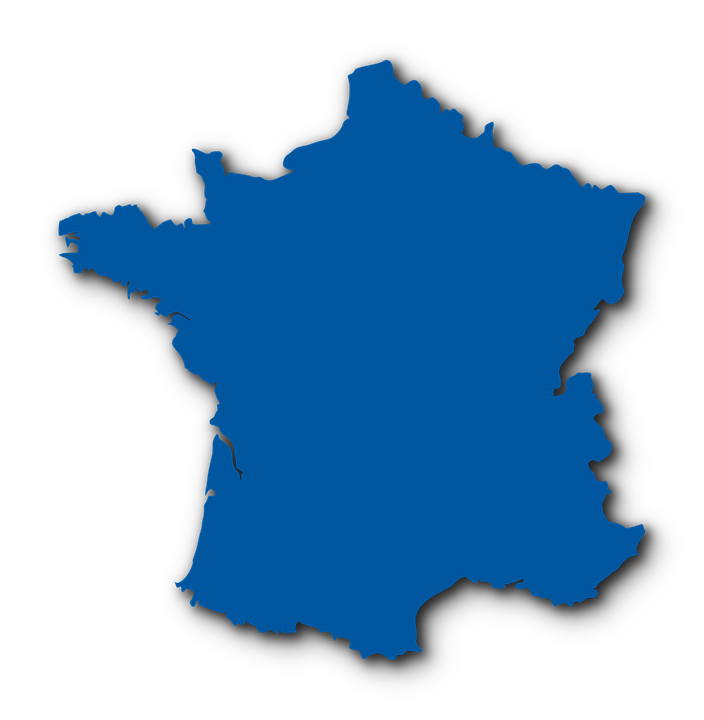 Map of france country free vector graphic on pixabay map of france france country logo french blue gumiabroncs Images