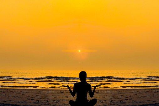 Woman, Girl, Yoga, Relaxation