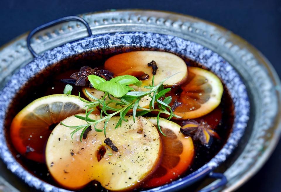 Succo, Succo D'Uva, Frutta, Apple, Limone, Spezie