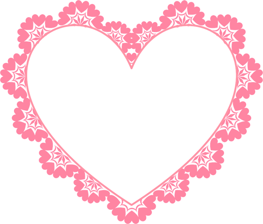 . Frame Heart Border   Free image on Pixabay