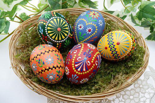Easter, Ornament, Background