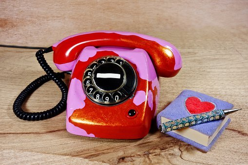 Telephone, Vintage, Dial, T65