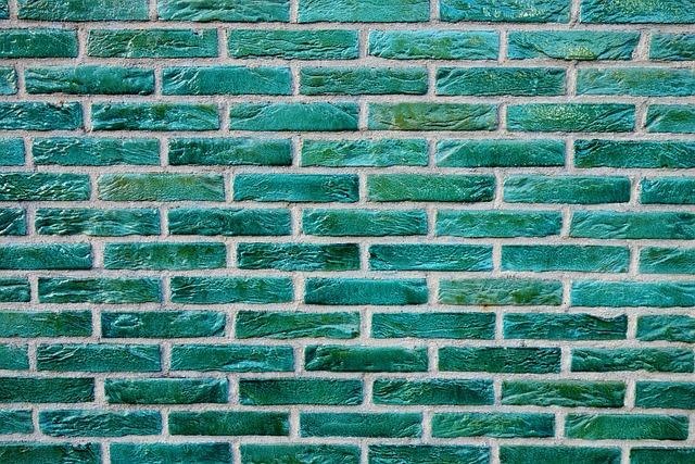 Brick Wall Green Bricks 183 Free Photo On Pixabay