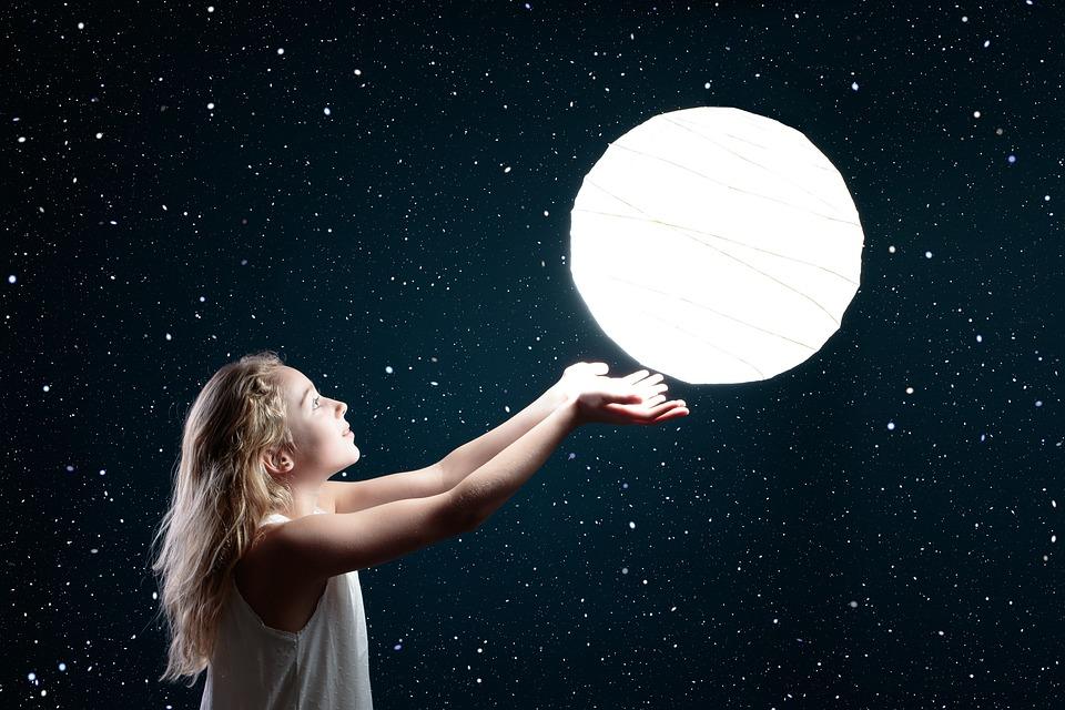 Moon Space Astronomy Free Photo On Pixabay