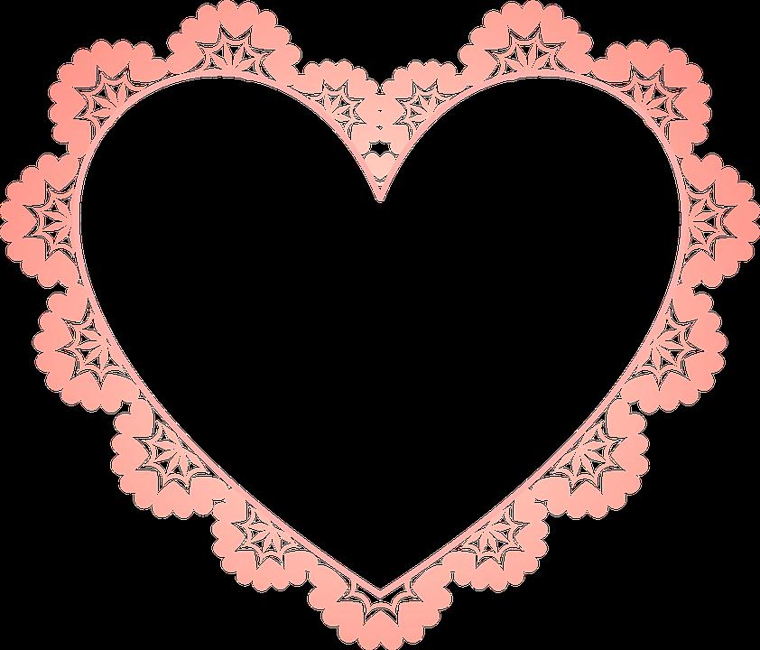 Frame Heart Border · Free image on Pixabay
