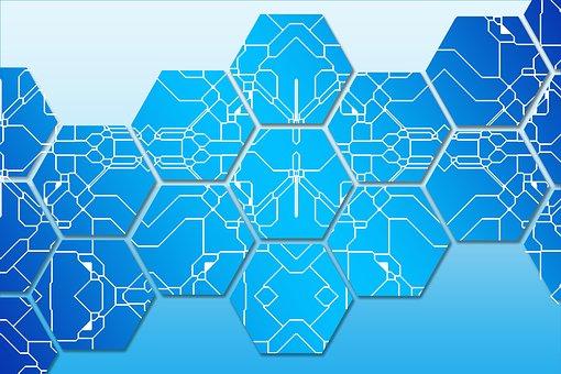 ブロック鎖, データ, レコード, コンセプト, システム, 通信