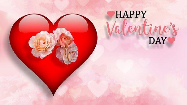 バレンタインデー, 愛, 愛情, 中心部, 心, ロマンス, バレンタイン