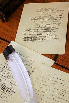 Manuscript, Pen, Document, Paper