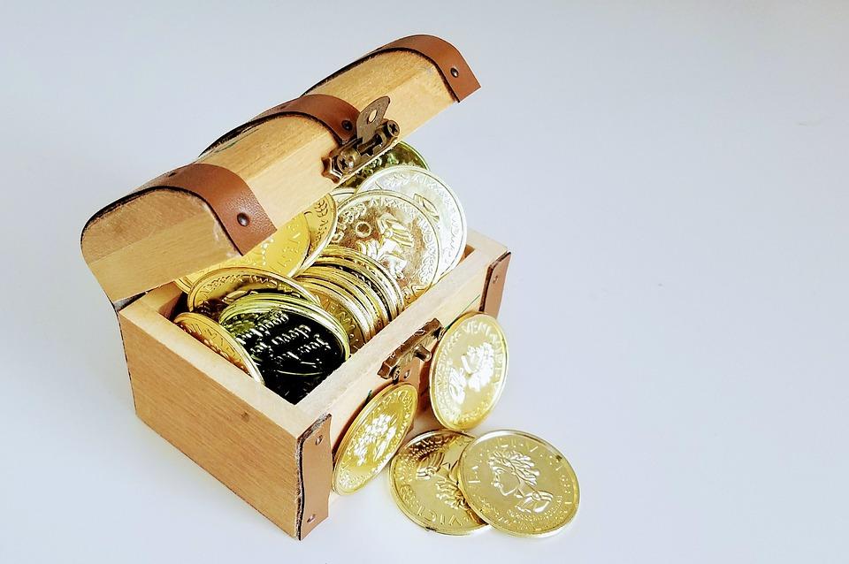 Zlatá, Bohatství, Poklad, Investice, Financí, Měny