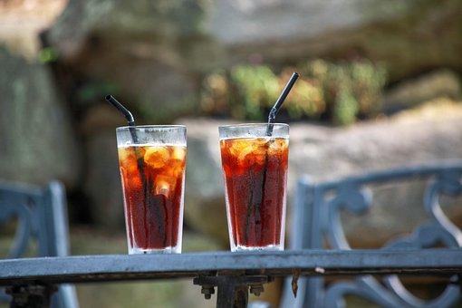 飲む, 夏, アイスコーヒー, マグカップ, 休憩, コーヒー・マグ, ティー