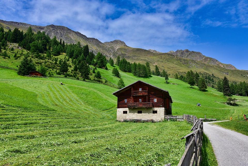50 Gambar Pemandangan Pegunungan Dan Rumah Gratis
