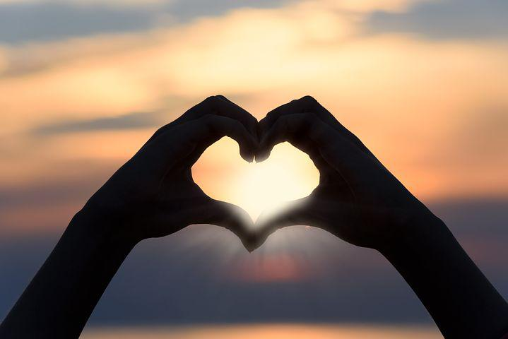 Heart, Love, Sunset, Shape, Sign