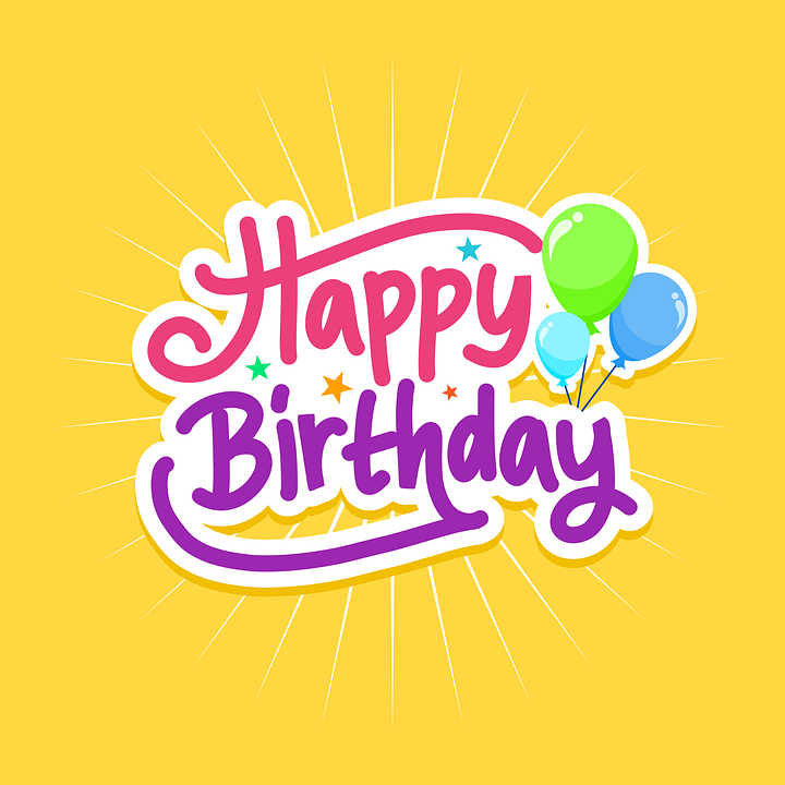 Birthday Card Cele Free Vector Graphic On Pixabay