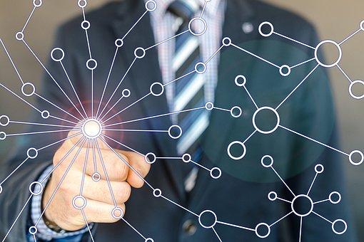 Rede, Internet, Conexão, Negócios