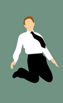飞行, 有雄心, 老板, 业务, 领带, 商人, 高加索, 当代, 企业, 公司