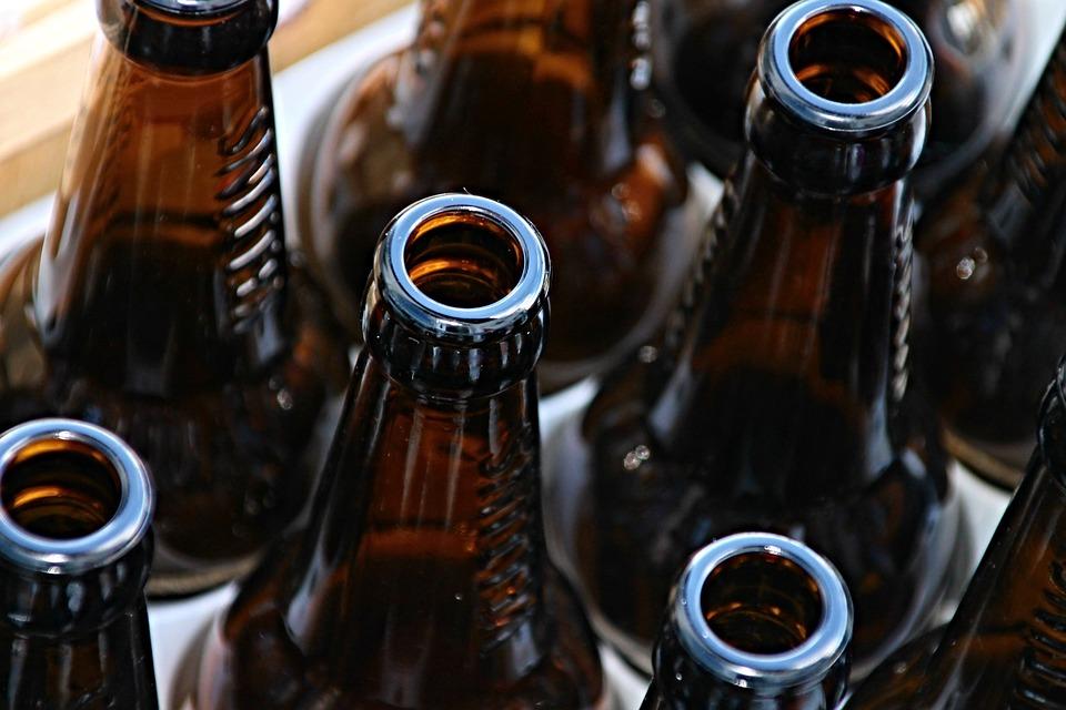 Botellas De Cerveza, Botellas, Vacío, Marrón, Cerveza