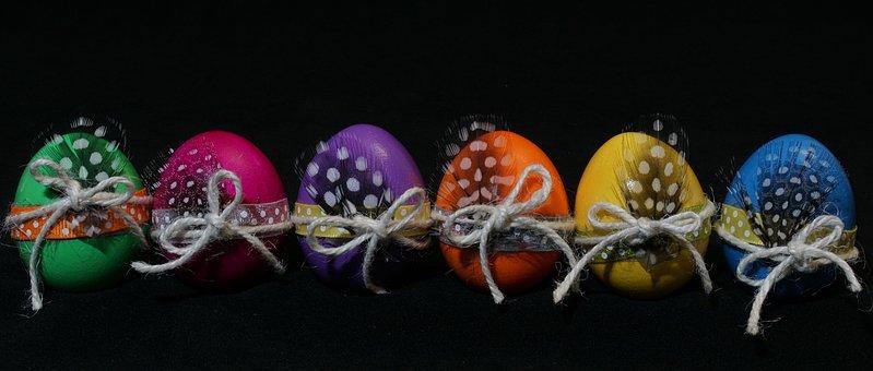 Ostern, Eier, Bunte Eier, Ostereier