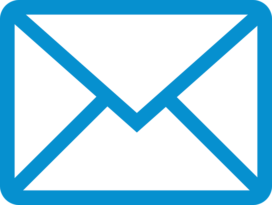 Image result for email blue icon