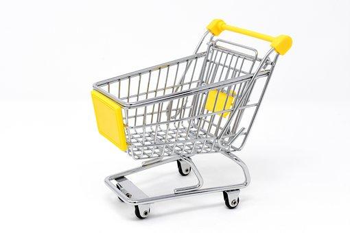 ショッピング カート, ショッピング, 購入, キャンディ, トロリー