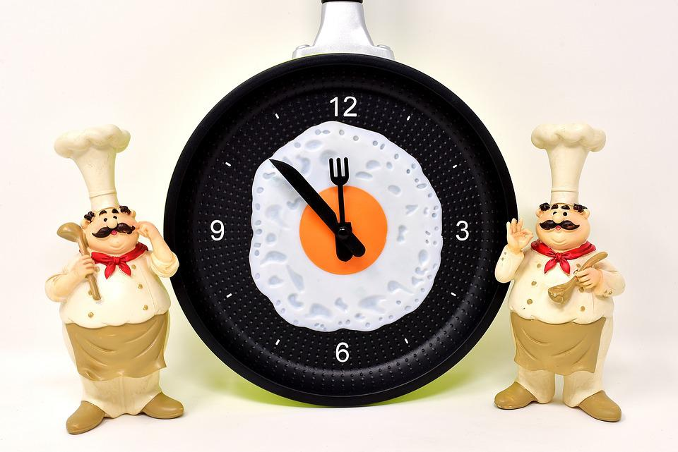 Cooking, Figure, Funny, Cook, Time Of, Noon, Egg Timer