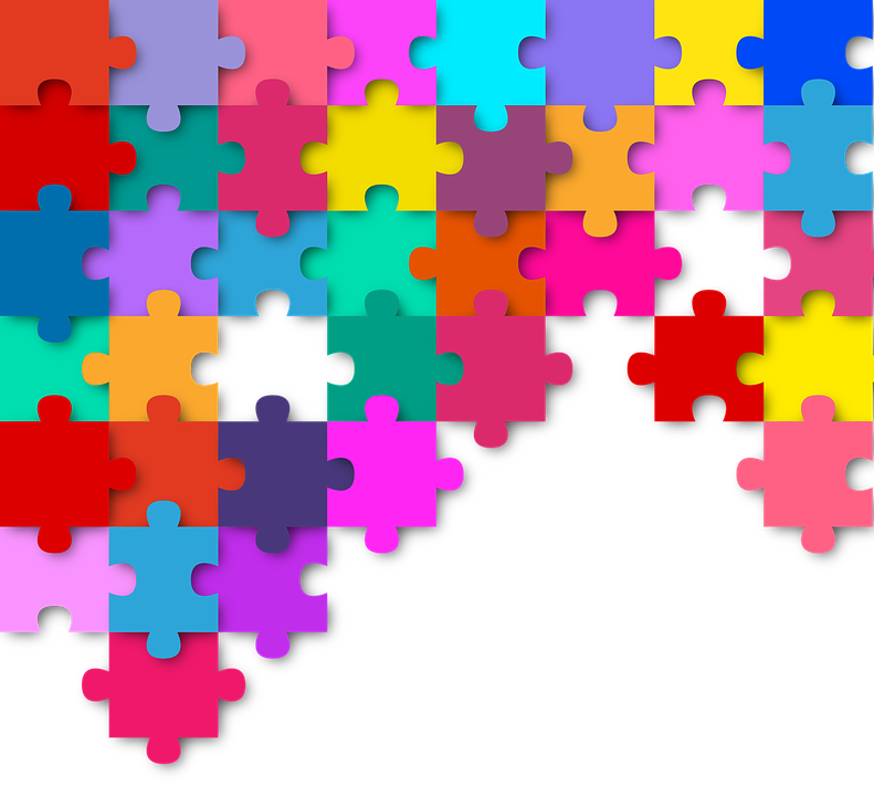 Puzzle Colorful Color Pieces Of - Free vector graphic on Pixabay