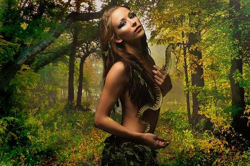 Fantazie, Amazon, Žena, Krása, Mladý