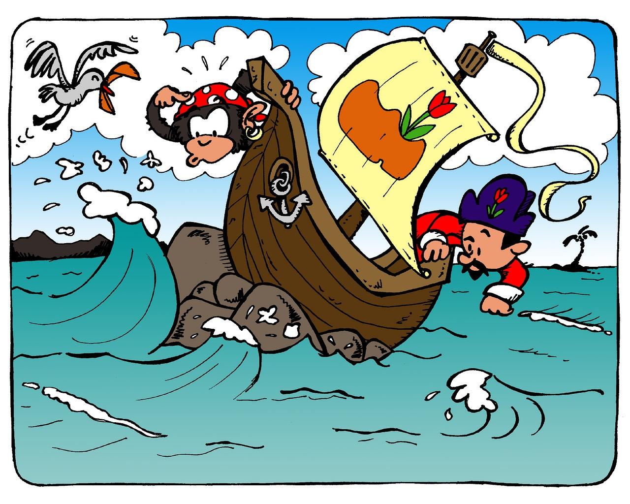 Картинки пирата прикольные