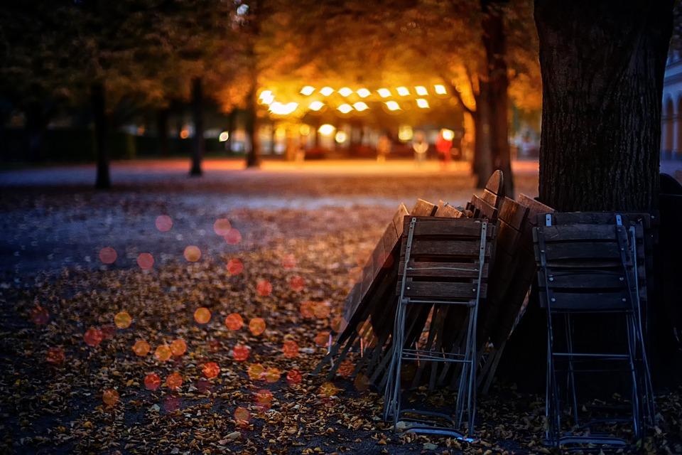 Musim Gugur Daun Lampu Foto Gratis Di Pixabay