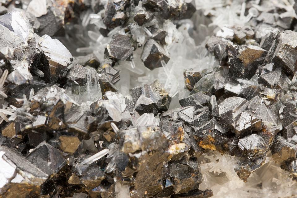 結晶, ガベージ, 自然, バッチ, リソース