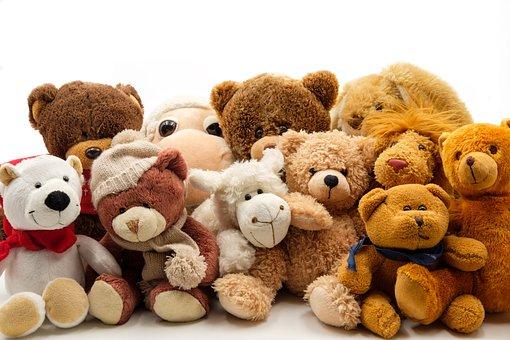 柔らかいおもちゃ, ぬいぐるみ, テディー ・ ベア, おもちゃ, ソフト