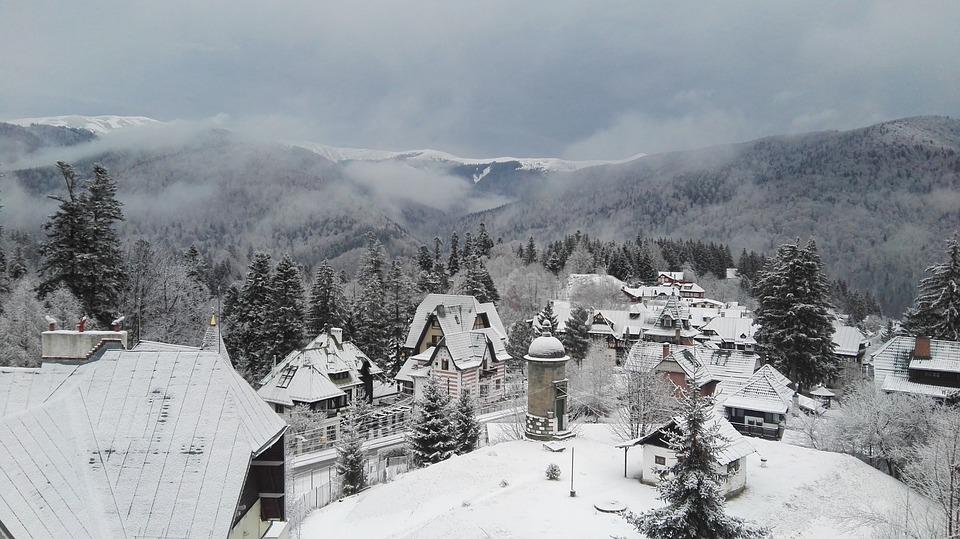 Rumänien, Winterlandschaft