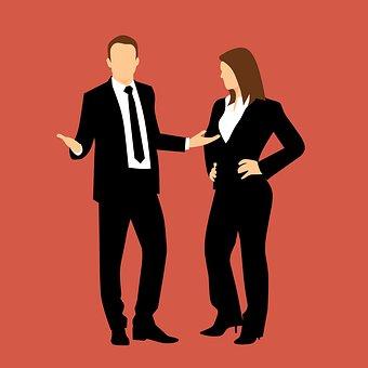 カップル, 関係, 実業家, 女性実業家, パートナーシップ, チームワーク