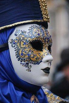 Karneval, Maske, Brügge, Porträt