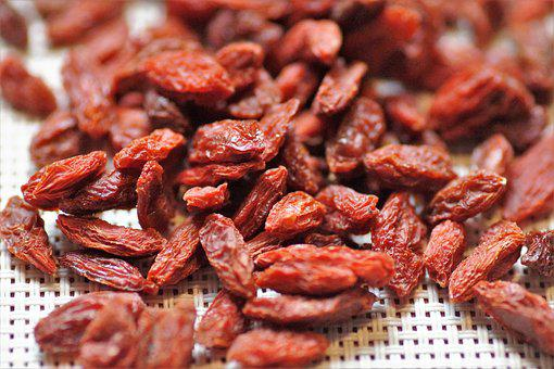 Goji, Berry, Dried, Fruits, Vitamins