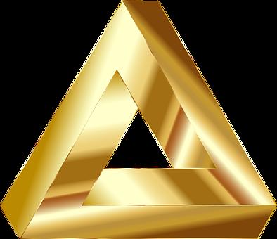 Penrose, Triangle, Optical Illusion