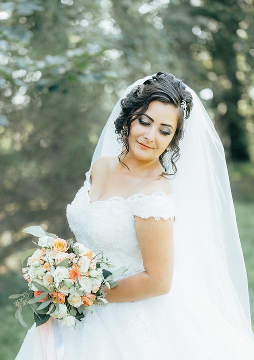 Panna Młoda ślub Fryzura Darmowe Zdjęcie Na Pixabay