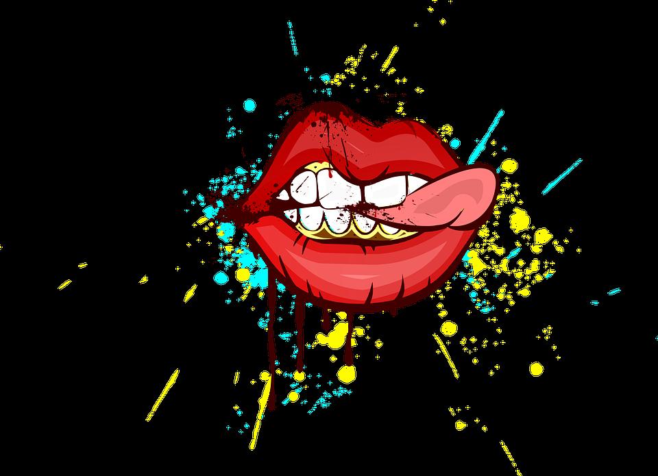 Dudaklar Sanat Boyama Pixabayde ücretsiz Resim