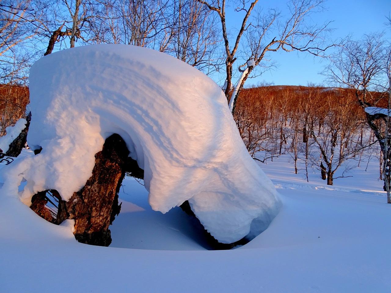 Снежные шапки картинки