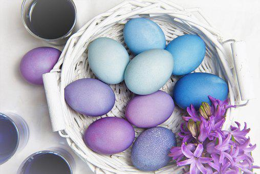 Easter, Egg, Background, Color