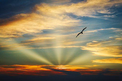 Sonnenuntergang, Himmel, Natur, Sonne