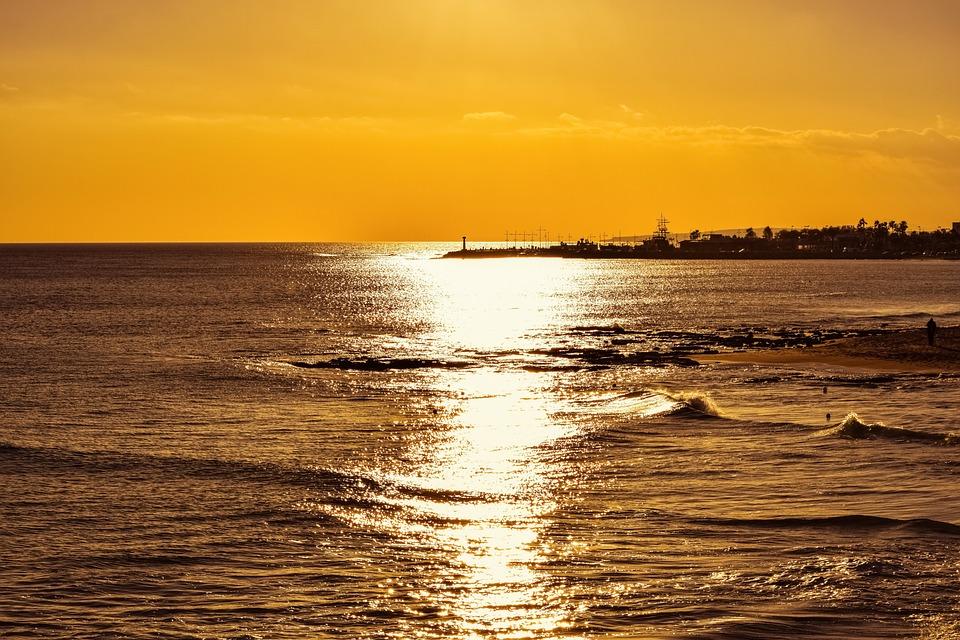 Sunset Dusk Beach Free Photo On Pixabay