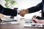 biznesu, urząd, umowy